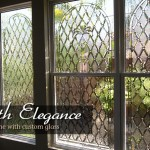 Add Privacy with Beveled Glass